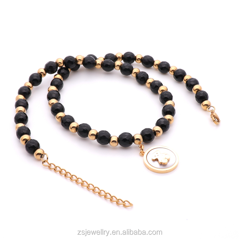 Bead Necklace Sets Jewelry Sets Wholesale Gold Bead Bracelet Jewelry Sets Women