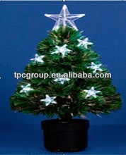White LED Acrylic Topstar Fibre tree