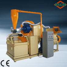 CE Automatic small copper cable granulator scrap copper wire separator machine hot selling in EU and France for sale