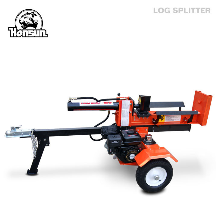 Germany Hanover exhibited 6.5hp Briggs & Stratton Vanguard hydraulic cylinder log splitter 18ton