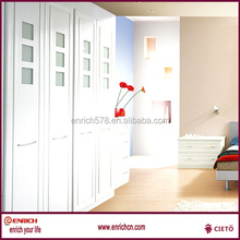 wooden BQ WHITE mdf wood wardrobe and dressing table