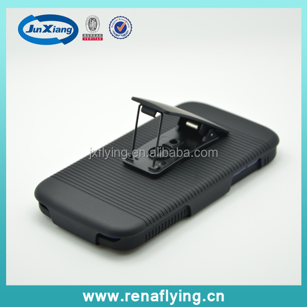 Holster Combo Mobile Case for Huawei G610 Rotating Clip Kickstand