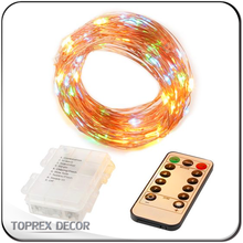 5m Remote Control Battery Operated Fairy Lights with Timer