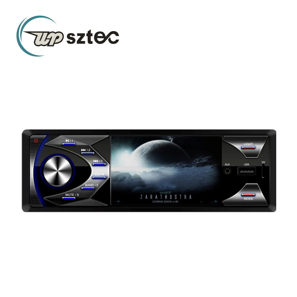 3 Inch Big Screen Display Bluetooth Receive Call Car Mp3 Player Audio Stereo With USB SD FM AM With Remote