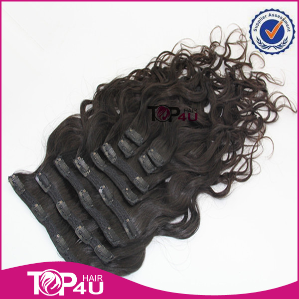 European hair clip in hair extension