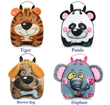 Wholesale trendy children hard shell EVA 3D animal backpack