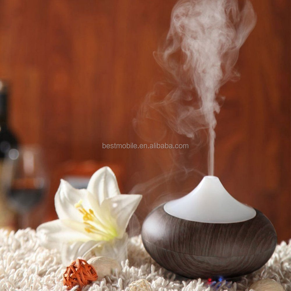 AUKEY BE-A1Natural Wood Portable Ultrasonic Aroma Oil Diffuser
