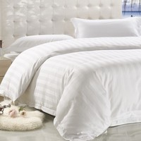 Latest Design Pure White Bed Linen For Hotels