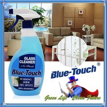 Blue-Touch Powerized Formula Glass & Surface Cleaner 20 oz Trigger Spray Bottle