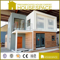 Nice Decorated Movable Wooden Pre-made Container House for Sale