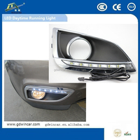 Super Brightness Day Time Running Led Car Light For Hyundai IX35 2010 To 2013