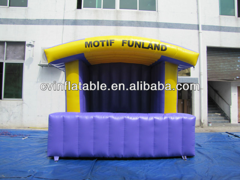 inflatable booth bar