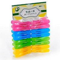A103 16pcs high quality color plastic clothes peg