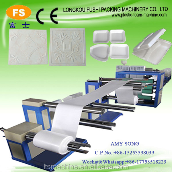 Lead Brand Expandable PS Polystyrene Sheet Produce Line Price
