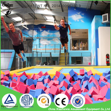 Big Fashion Kids Jumping Toys Indoor Trampoline Park with Foam Pit