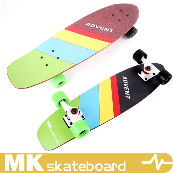 Bamboo super light and thin fish board skateboard,MK cruiser skateboard,