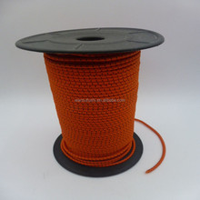 4mm cotton string red polyester cord