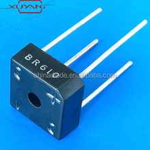 6A Single PhaseSilicon Bridge Rectifier BR605 BR61 BR62 BR64 BR66 BR68 rectifier diode BR610