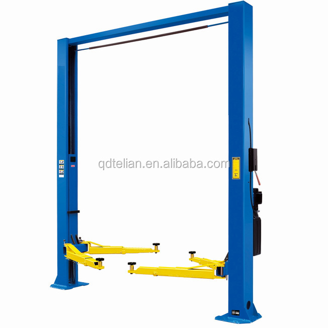 Portable Pneumatic Lift Arms : Two hydraulic cylinder portable car wash lift machine