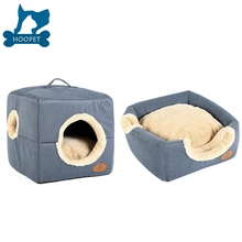 Cute Square Dog House For Small Pets hanging pet bed