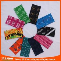 strong elasticity decoration motor cycling bandana headband wholesale