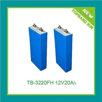 3.2V 20Ah lifepo4 cell for various lifepo4 battery