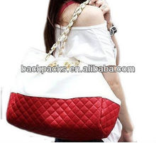 New Korean Lady Hobo Tote PU leather handbag