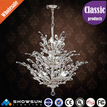 Dubai Egypt phyllopod type crystal chandelier for the room