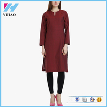 Ladies Fashion Clothing Apparel Cotton Kurta Neck Designs