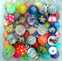 balls bouncing rubber 27mm 32mm 45mm 49mm