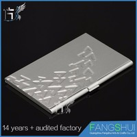Customized Factory price business card holder with custom logo