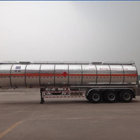 40000 50000L Tri Axle Stainless Steel