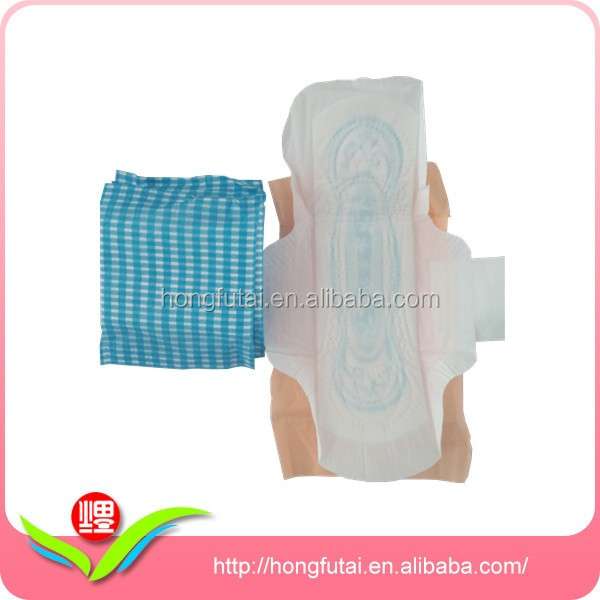 High Absorbency Soft OEM Brand Name Sanitary Napkin with Low Price