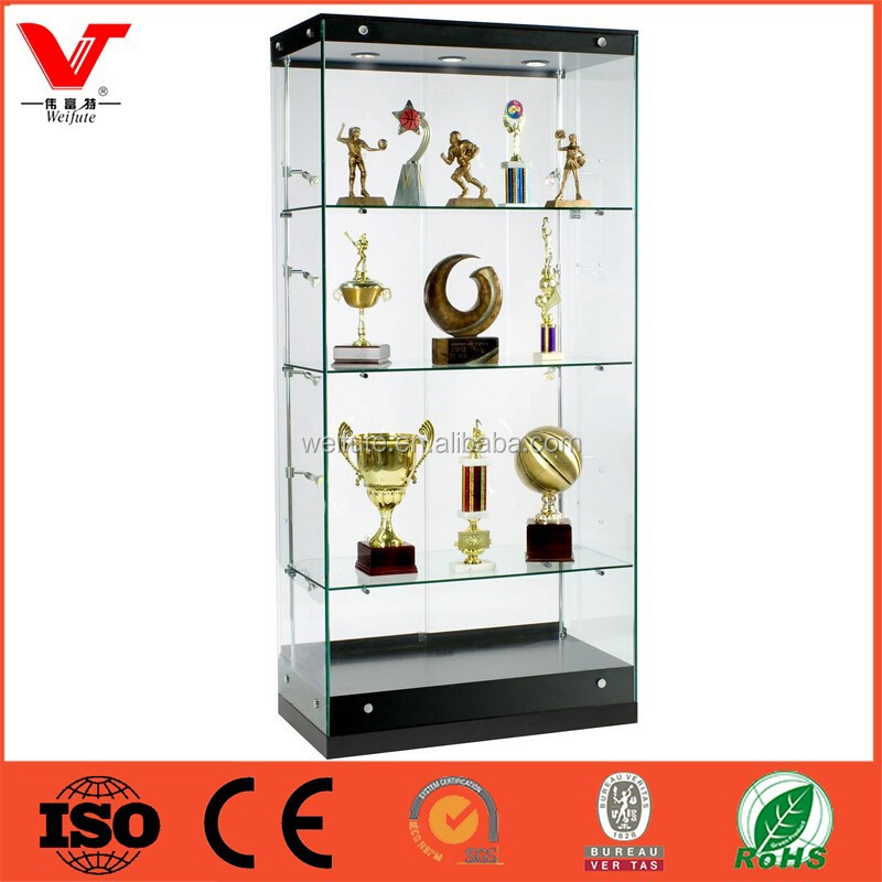 Wholesale glass display cases,show case display,glass vitrine
