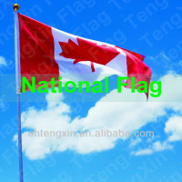 Polyester custom national flags