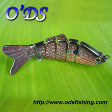 OEM new plug lures plastic with super tough inner structure custom plug lure