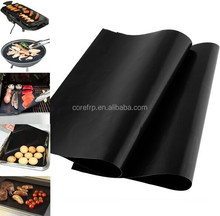 Non sticky BBQ grill mat