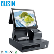 Best Price Electronic pos hardware pos terminal with two touch screen