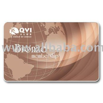 Bronze Vacation Club Membership card