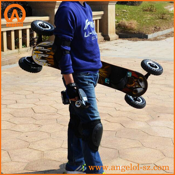 Factory supply OEM off road electric mountain board boosted skate board longboard