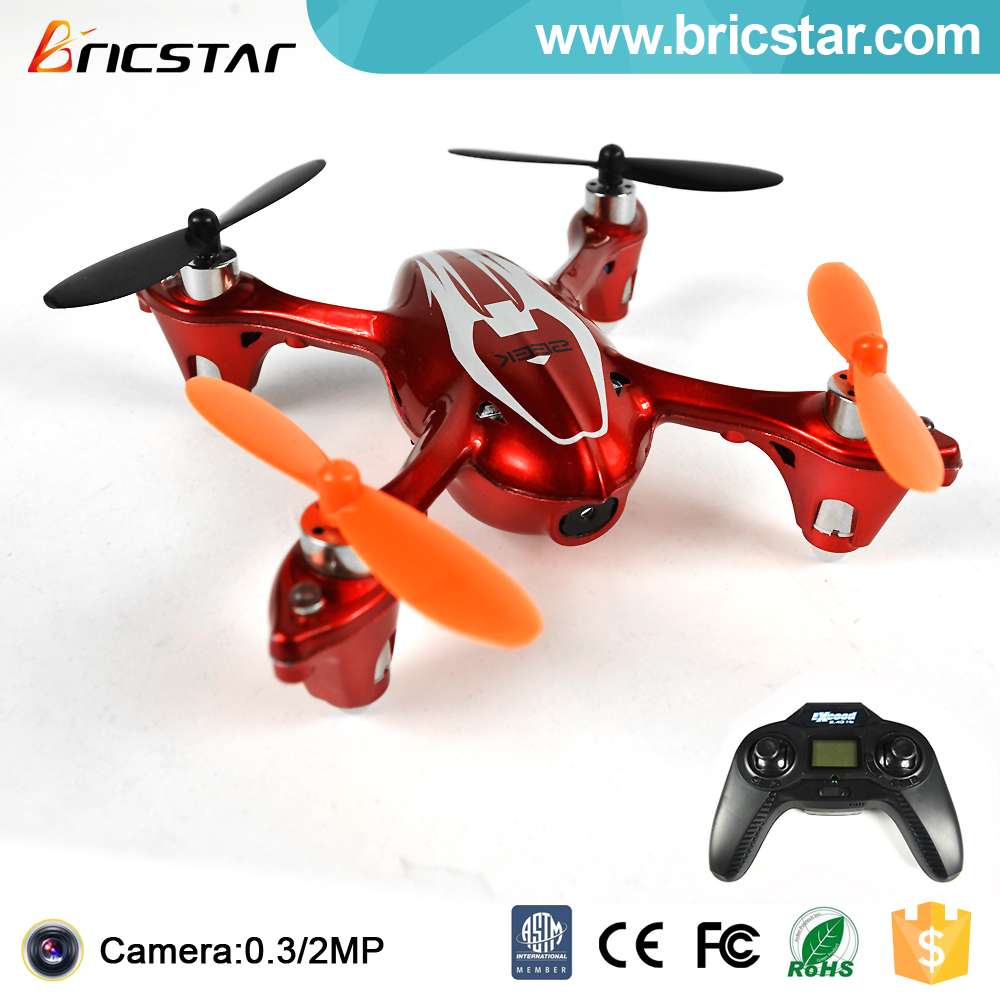 Top sale 2.4G 4CH small flying quadcopter camera with lights.