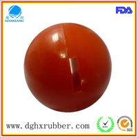 Professional manufacture of rubber pimple ball