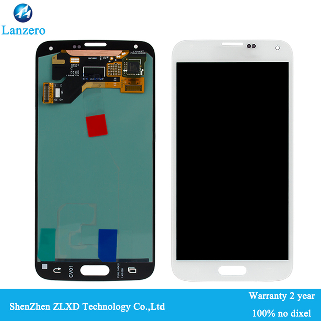 100% Original test good lcd touch screen for Samsung Galaxy S5 G900F G900M H FD A LCD display touch screen Digitizer