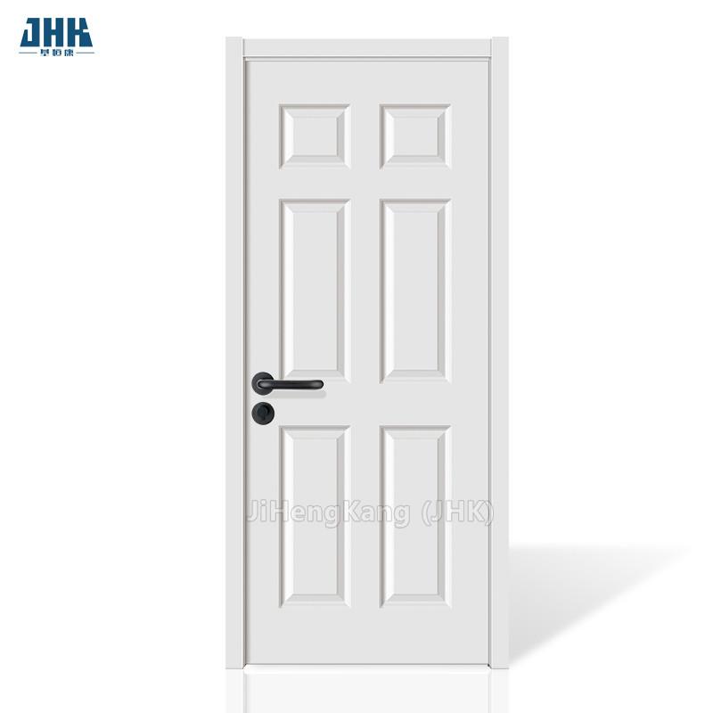 Jhk 006 6 Panel Solid Core White Primer Mdf Hdf Kitchen Interior Door Buy Interior Door Solid Core White Interior Doors Mdf Kitchen Doors Product On Alibaba Com