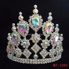 Fashion crystal india wedding tiaras jewelry tiara wholesale pageant crowns and tiaras