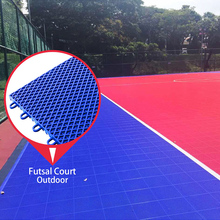 100% environmental pp plastic professional outdoor interlocking futsal court flooring