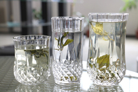 Crystal glass whisky cup