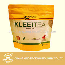 Plastic Zipper Bag for Herbal Tea
