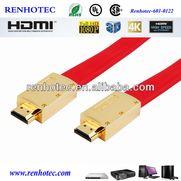 hdmi to composite video cable flat wire hdmi cable 1080p