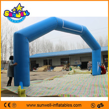 Customized PVC inflatable arch with logo, inflatable advertising arch,inflatable advertising archway